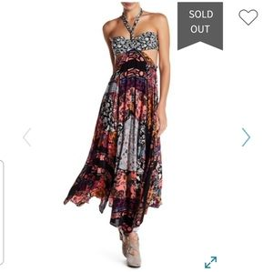NEW Free People California Love Maxi Dress